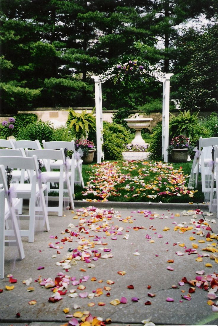 Ruthmere Weddings in the Summer