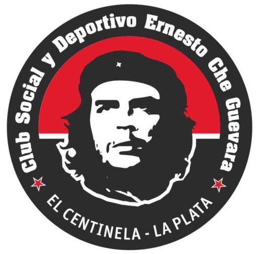 """A PARTIR DE HOY EL CLUB SOCIAL Y DEPORTIVO ERNESTO """"CHE"""" GUEVARA TIENE ESCUDO OFICIAL VOTADO Y DECIDIDO POR LOS PIBES DEL CLUB, FUE UNA HERMOSA INAUGURACION JUNTO A CALICA FERRER Y LOS VECINOS DEL BARRIO EL CENTINELA (PROXIMAMENTE LA FOTOS). GRACIAS A TODOS POR APOYAR ESTE NUEVO ESPACIO DE IGUALDAD, SOLIDARIDAD Y COMPROMISO, VAMOS POR MAS, """"NO RETROCEDEMOS NI PARA TOMAR IMPULSO"""""""