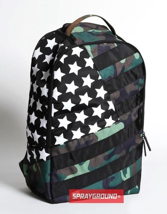 Sprayground Preview: Camo Shark Top Loader Backpack & Camo Shark Mini Duffle...droppin' this week...Like?
