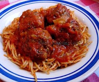 Big Mama's Creole Meatballs in Red Gravy