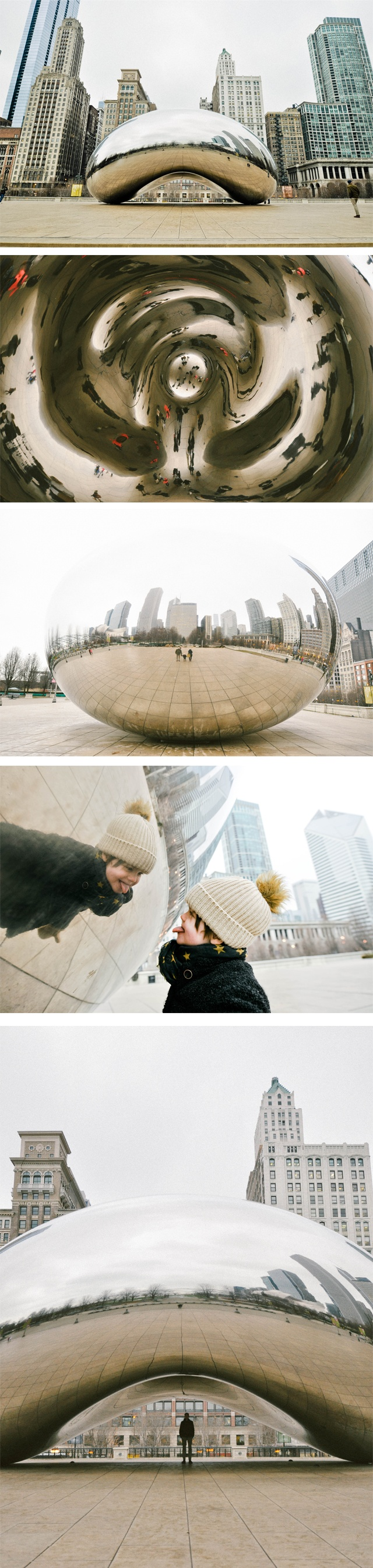 Chicago, Illinois, The Bean (Cloud Gate)