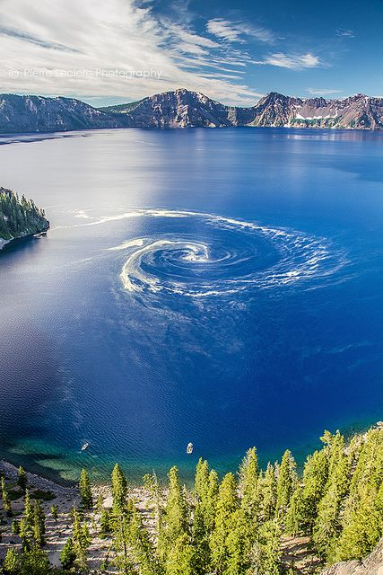 Crater Lake National Park, Oregon. Another beautiful natural treasure. Always fun to see.
