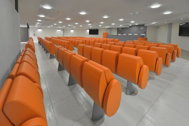 New realization with #tulip #conference #seating at ULS in #perugia #design #furniture #interiordesign #architecture