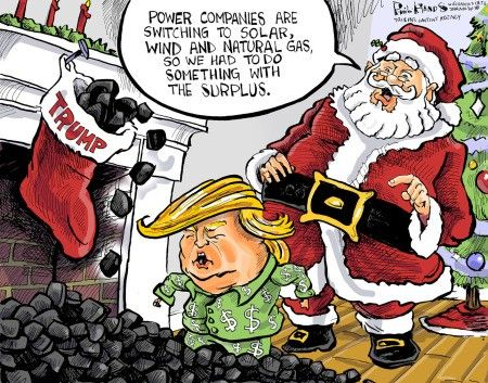 Happy Holidays, Mr. Trump!