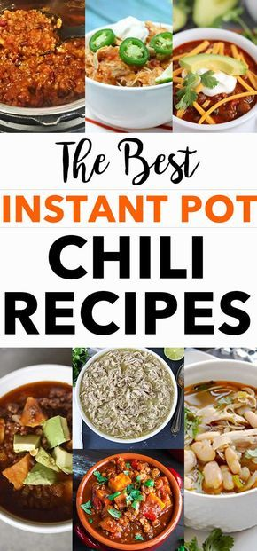 The best Instant Pot chili recipes - featuring our family beef chili recipe and over a dozen other chilis from vegan to white chicken chili! #instantpot #chili #recipes via @digitalmomblog