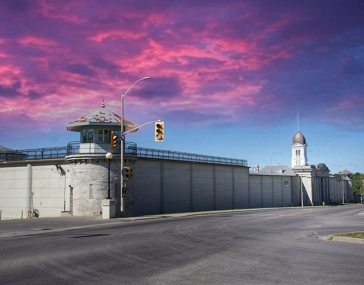 Kingston Ontario ~ Canada ~ Kingston Penitentiary ~ Nationa Historic Site Canada is a North American country stretching from america��_