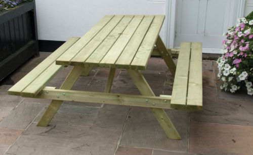 Standard A Frame Picnic Bench - Sustainable Furniture
