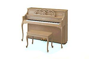 white upright piano - Google Search