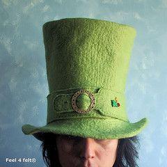 Wet Felting Patterns Free | Helena Pinto - myGraftySide) Tags: wool wet hat felting artesanal felt ...