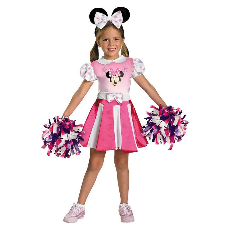 Minnie Mouse Girls' Costume Mickey Mouse Clubhouse - Medium (7-8), Girl's, Size: M(7-8), Pink