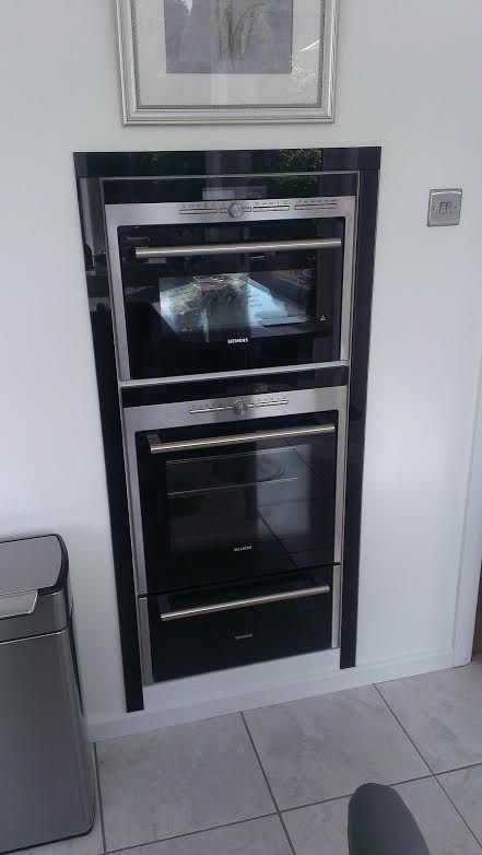 Flush Fit Design Built In Siemens Oven Microwave