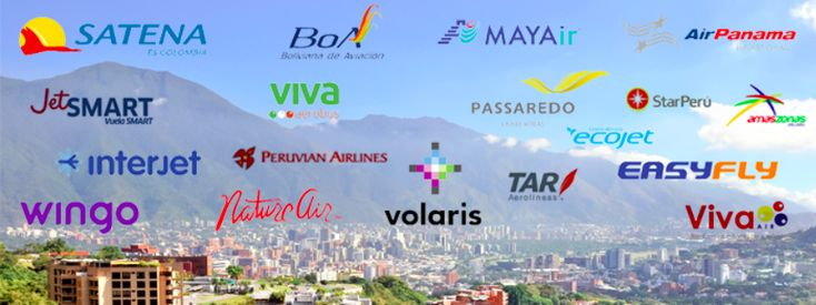 New South American Airlines we Ticket! #airlines #flights #travel #business #satena #wingo #volaris #undertrail #latam #natureair #southamerica #centralamerica #america