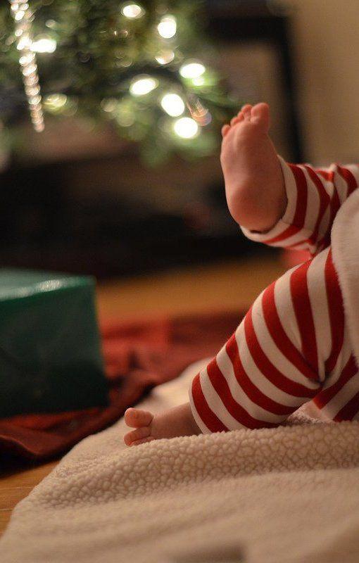 Christmas baby / Un bébé de Noël