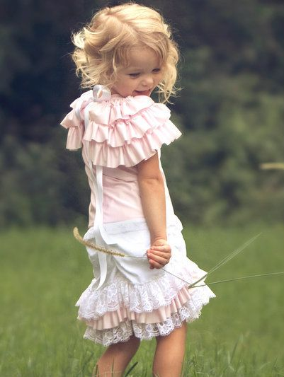 One Good Thread - Dollcake Oh So Girly - Little Pink Studio Ruffle Shorts | One Good Thread, $39.90 http://www.onegoodthread.com/