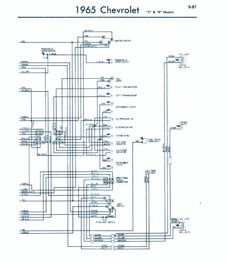 1965 Chevrolet Wiring Diagram Jpg 1 169 U00d71 363 Pixels