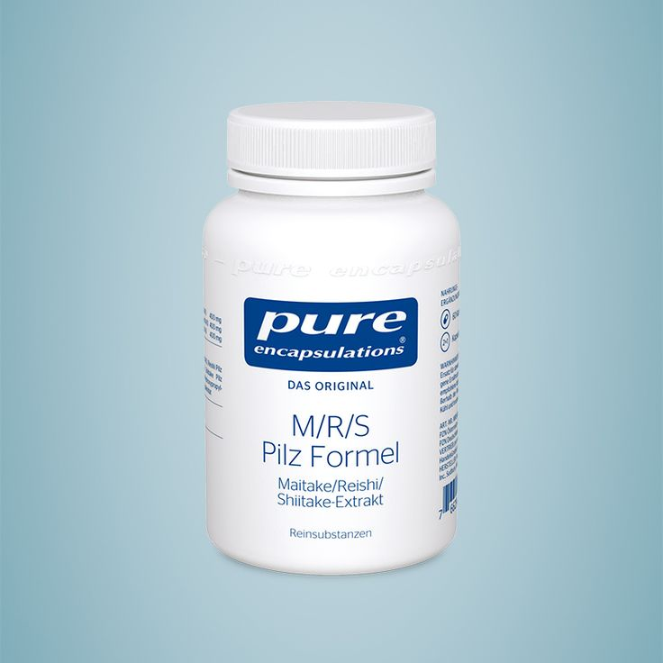 M/R/S Pilz Formel (Maitake/Reishi/Shiitake-Extrakt): Vitalpilze für das Wohlbefinden