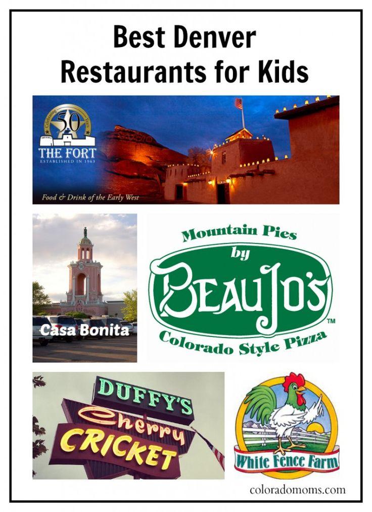 Best #Denver Area Restaurants for Kids