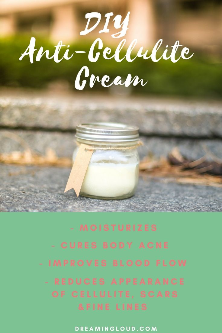 Anti Cellulite Body Cream, diy body cream, all natural anti cellulite cream, cellulite essential oils,