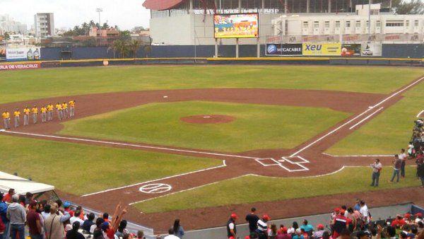 April 2, 2016 - Opening Day at Parque Centenario del 27 de Febero, the home of the Olmecas de Tabasco of the AAA Mexican League.