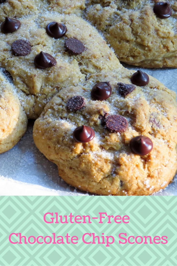 Gluten Free Chocolate Chip Scones are waiting. #glutenfree ...