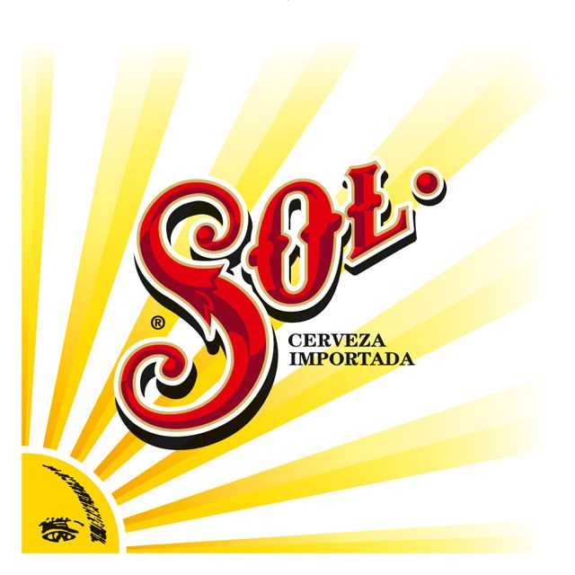 Sometimes a design just speaks to me without know what it represents or where it comes from. The SOL logo is one of those images.  I've since learnt it is a mexican beer. LOVE this logo!