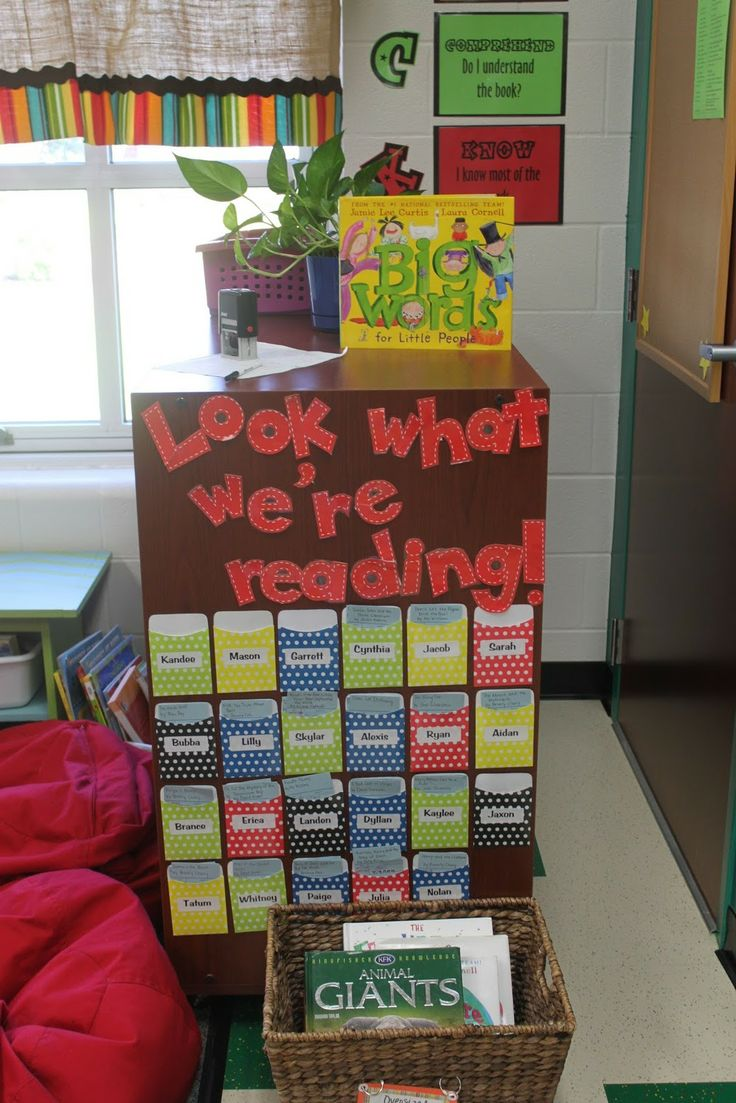reading center...check out system