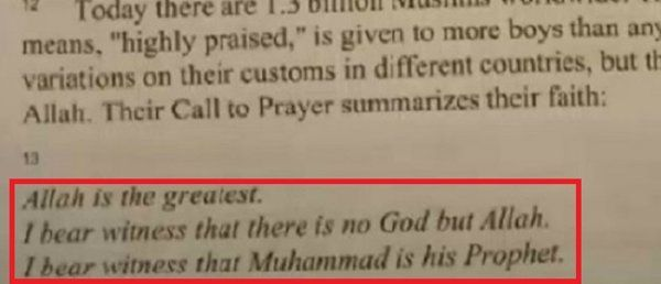 Millions of students in public schools don't understand fractions or pronouns at even a basic level but students in the oceanfront Boston suburb of Revere, Mass. are taking the time to learn all about Islam — in the most embarrassingly shallow and cheerleading way imaginable.