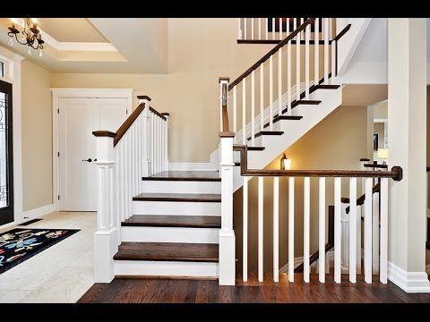 Stair Railing Ideas #  Christmas Stair Railing Ideas * Stair Railing Chr...