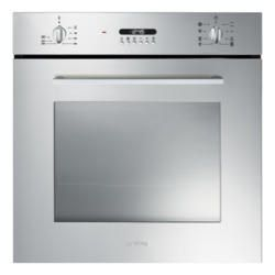 Smeg SF478X Cucina 60cm Multifunction Oven With New Style Controls - Stainless Steel | Appliances Direct