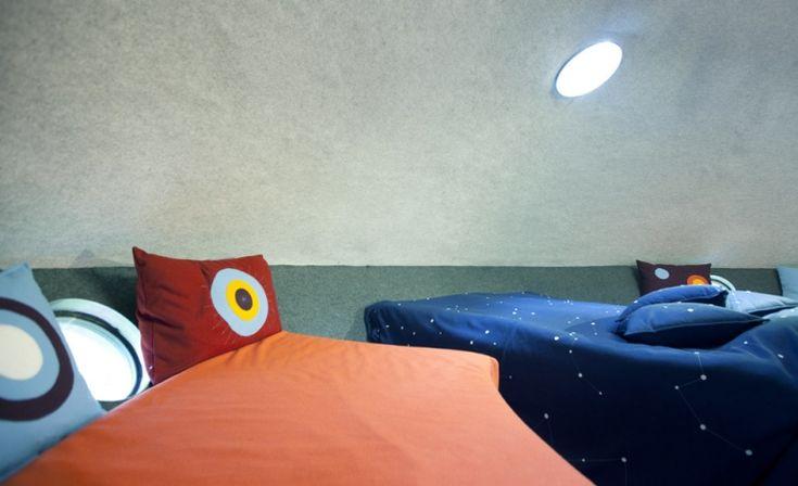 Kinder freuen sich bestimmt auf das UFO-Design
