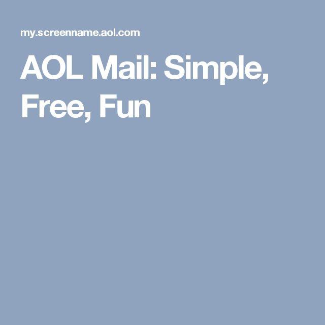 aol mail simple fun
