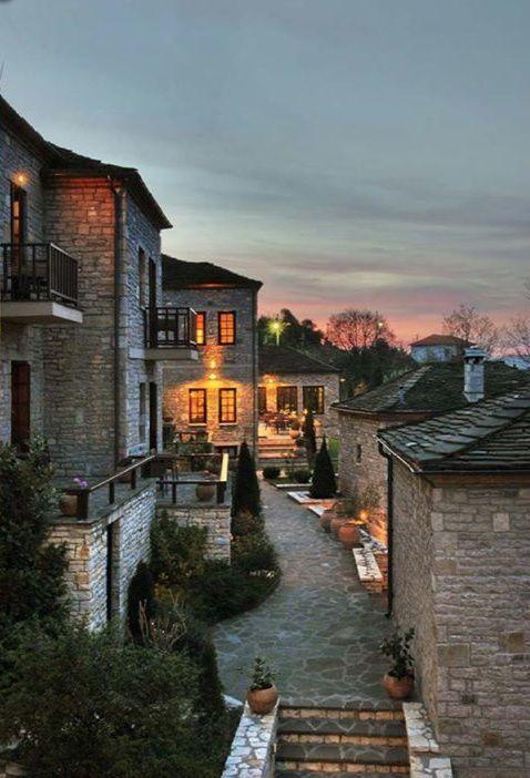 """Aristi"" Mountain Resort Hotel and Spa in Zagorochoria, Epirus ✔zϮ"