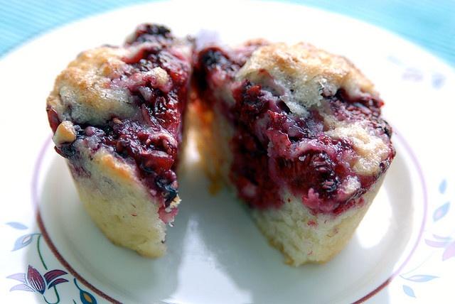 vegan: raspberry lemon muffins recipe... | Peaceful Plate: Vegan Food ...