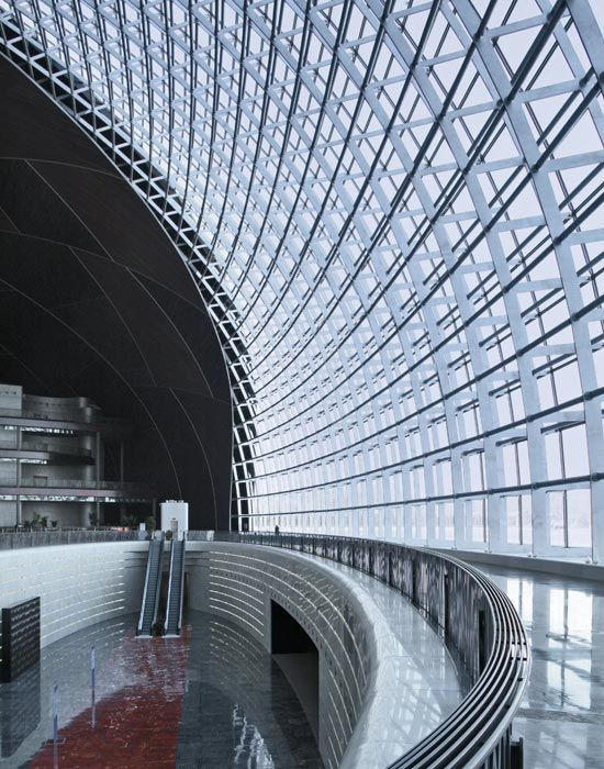 Large Chinese National Theatre Beijing (Source: Paul Andreu with ADPi and BIAD, Paris)