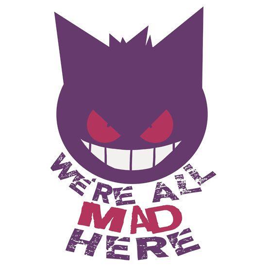Gengar Cheshire Cat by Valhalla Halvorson