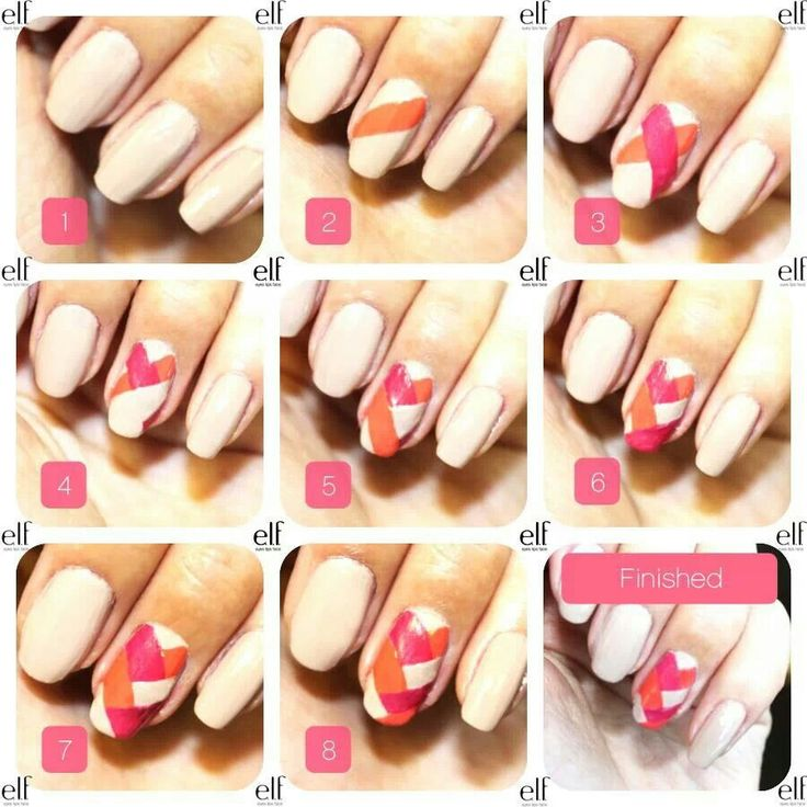 12 best Decoración de uñas images on Pinterest   Makeup, Nail ...
