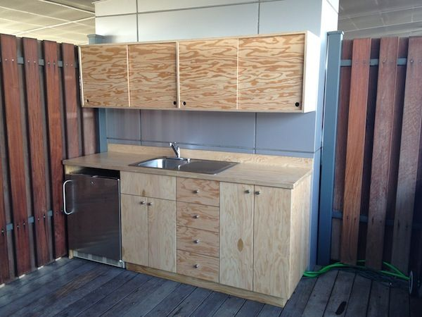 simple sliding cabinets
