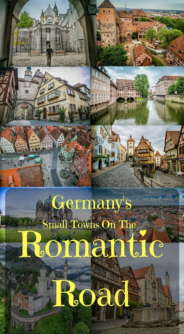 Germany's small towns on the Romantic Road. Before heading off on one of the best road trips in Germany you should read this Ultimate Germany Road Trip Guide by the Divergent Travelers Adventure Travel Blog http://www.divergenttravelers.com/ultimate-germany-road-trip-guide/
