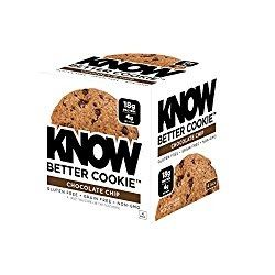 KNOW Foods Gluten Free, Low Carb, Protein Cookies, Chocolate Chip