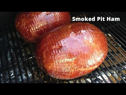 Smoked Pit Ham | Glazed Pit Ham Recipe HowToBBQRigh Malcom Reed