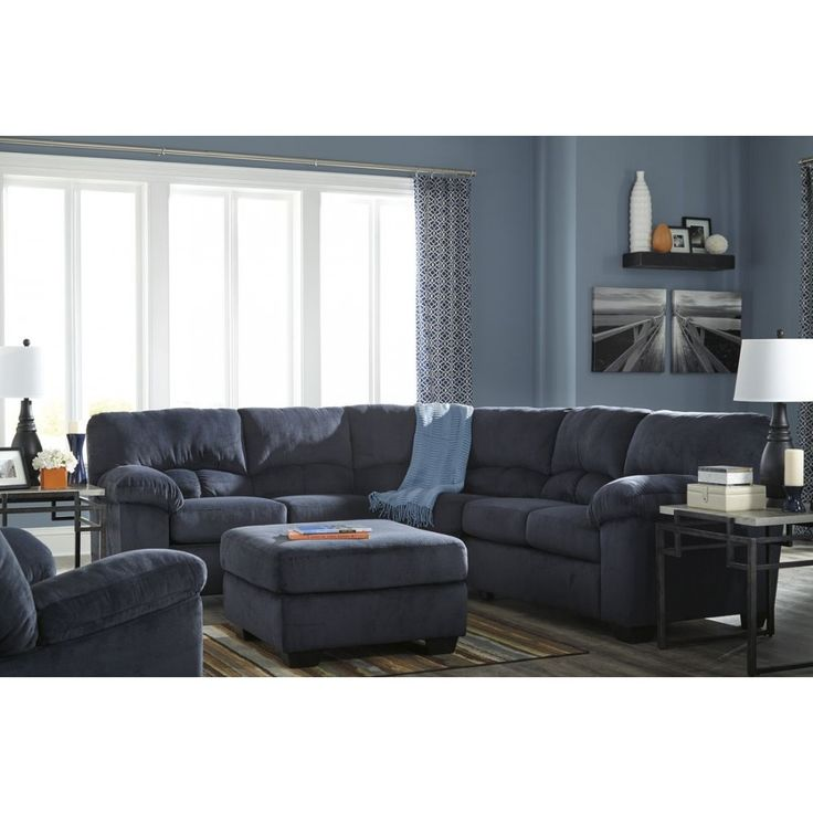 Ashley Furniture Dailey Sectional In Midnight Space Saving Sectionals Pinterest Living