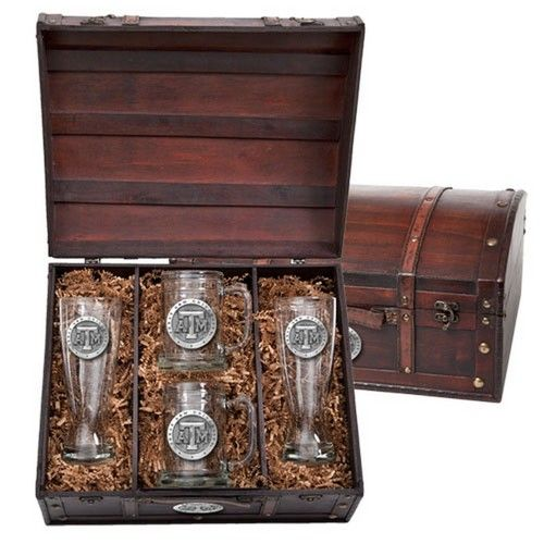Texas A&M Aggies Beer Glass Gift Set