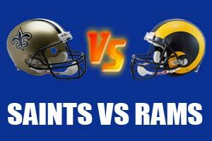 Watch New Orleans Saints vs St. Louis Rams Game Live Online Stream