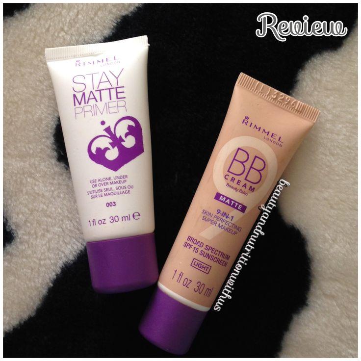 Rimmel Stay Matte Primer & BB Cream Matte Review!!!