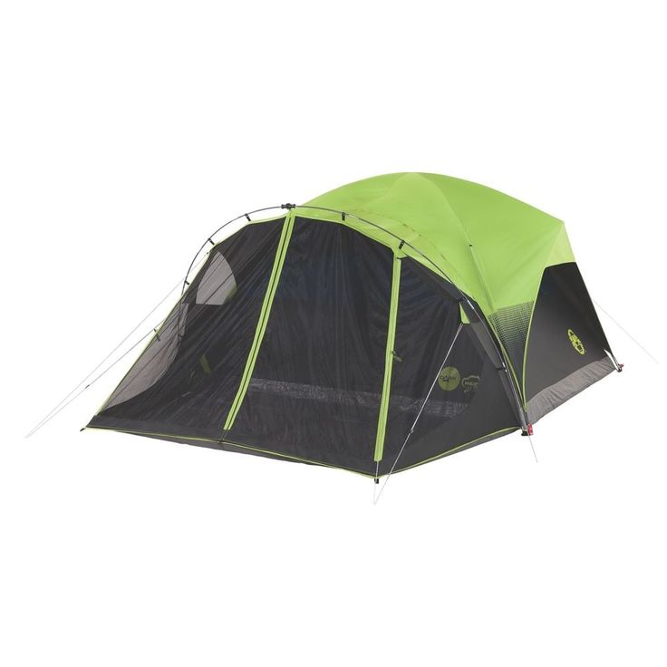 Coleman Carlsbad Dark Room 6 Person Dome Tent With Screen Kohls In 2020 Coleman Tent Best Tents For Camping Family Tent Camping