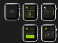 i watch rent a bike app #smart #watch #smartwatch