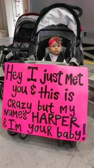 Baby Harper || welcomes home soldier dad from deployment - TODAY.com