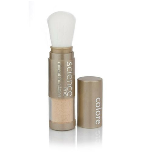 Loose Mineral Brush is lightweight and water resistant.