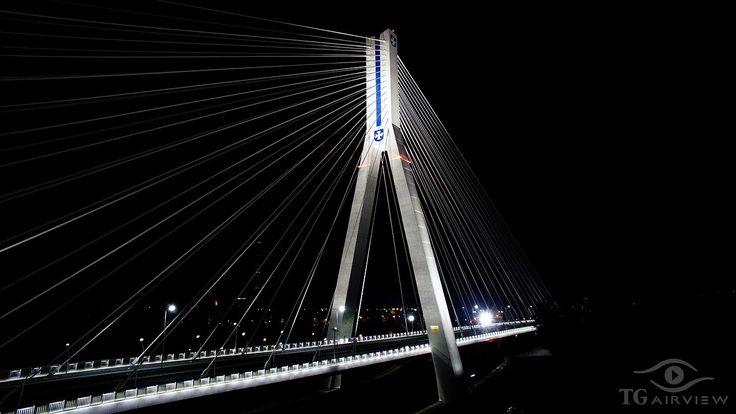 Second highest bridge in Poland