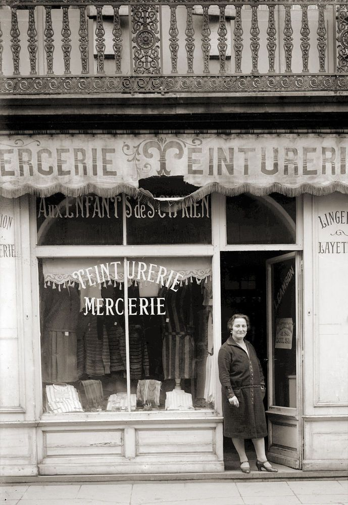 17 best images about boutiques et m tiers d 39 hier on for Le commerce exterieur